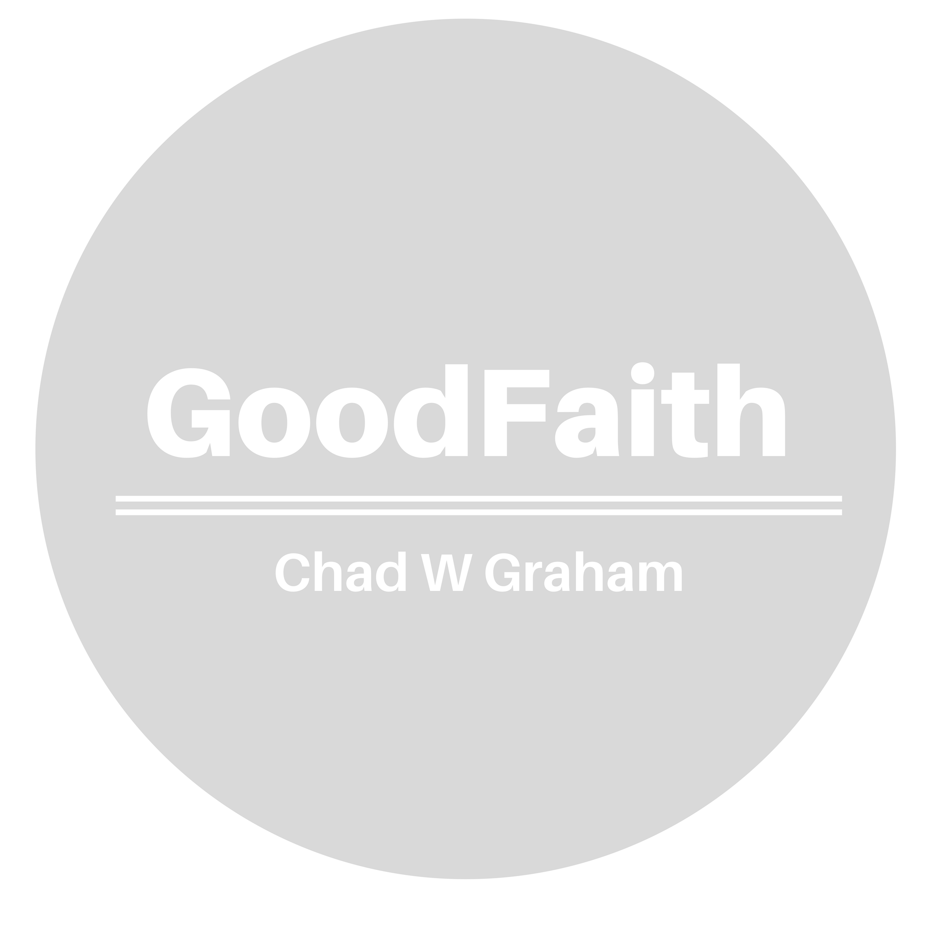 The GoodFaith Blog